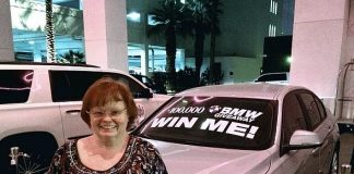 Local Las Vegas Residents Win Big at SLS Las Vegas with a New 2017 BMW