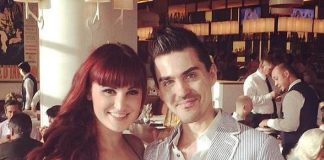 PIN UP's Lisa Marie Smith and Rock of Ages' Paul Johnson Celebrate Paul's Birthday at GIADA in The Cromwell