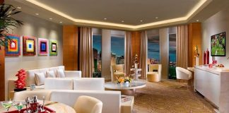 Living Room in Sky Villa Suite