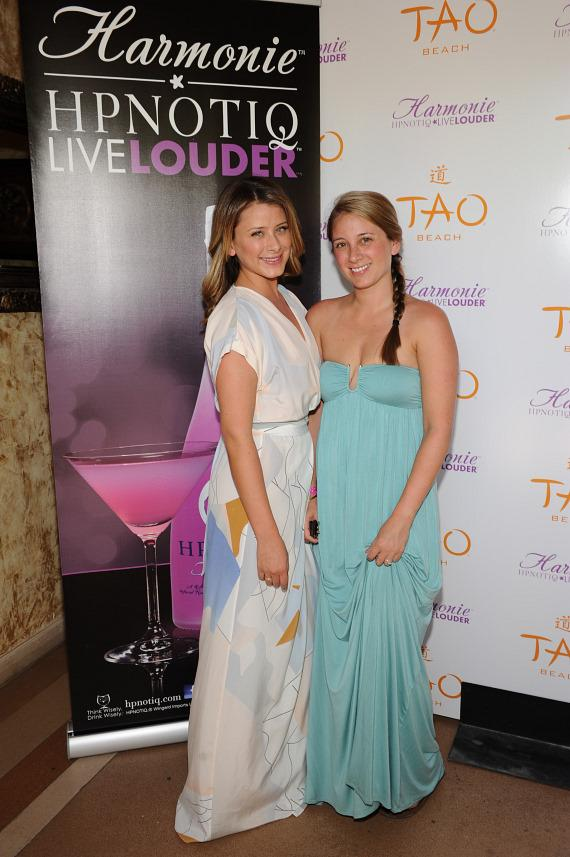 Erin and Lo Bosworth at TAO Beach