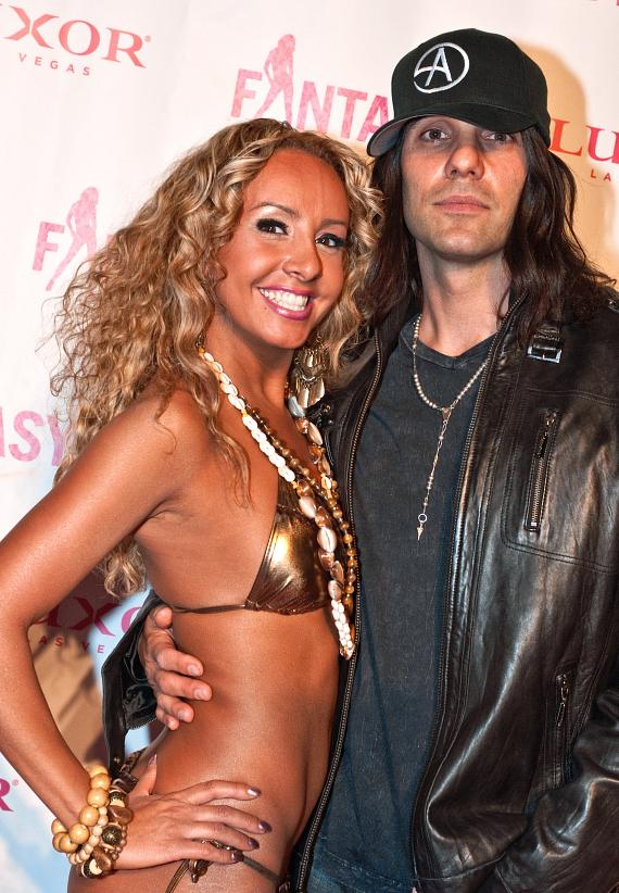Lorena Peril and Criss Angel