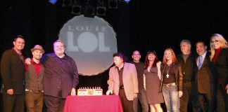 Comedian Louie Anderson Gets Surprise Birthday Party at Palace Station