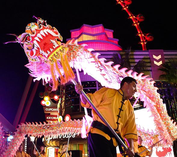 Caesars Entertainment Las Vegas Resorts Celebrate Chinese New Year with Four-Day Festival, Special Offerings and Lion Dances