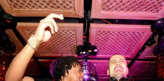 Lupe Fiasco and Sky Gelltaly at LAVO