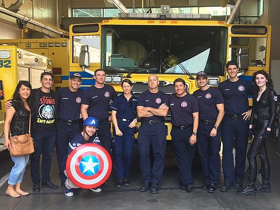 Marvel Celebrates a Year by Saying Thank You to Real Life Superheroes