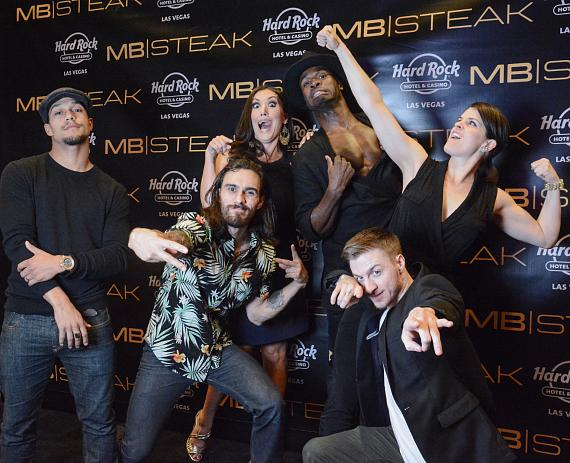 MB Steak Hosts Grand Opening at Hard Rock Hotel & Casino Las Vegas with DJ Lydia Ansel, Cast of Magic Mike Live and Mayor Goodman