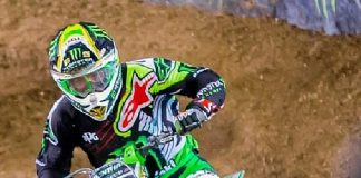 Supercross All-Stars Compete for One Million Dollars at 2017 Monster Energy Cup at Sam Boyd Stadium Las Vegas October 14