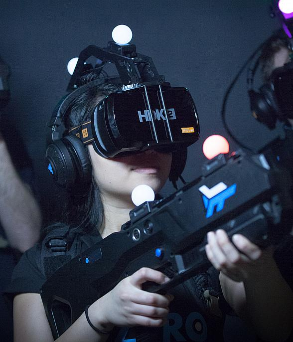 Vegas to Debut First Free-Roam Virtual Reality Arena at MGM Grand Hotel & Casino