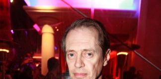 Steve Buscemi Parties at Surrender Nightclub in Las Vegas