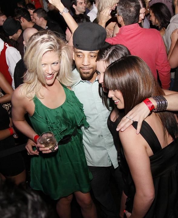 J. Holiday performs at LAX Nightclub at Luxor