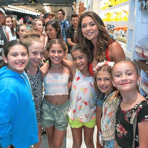 UFC Ring Girl Arianny Celeste Spotted at Sugar Factory in Las Vegas