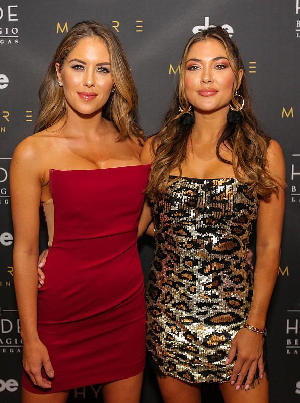 MMA Ring Girls Arianny Celeste, Brittney Palmer and Friends Host Fight Week Party at Hyde Bellagio Las Vegas