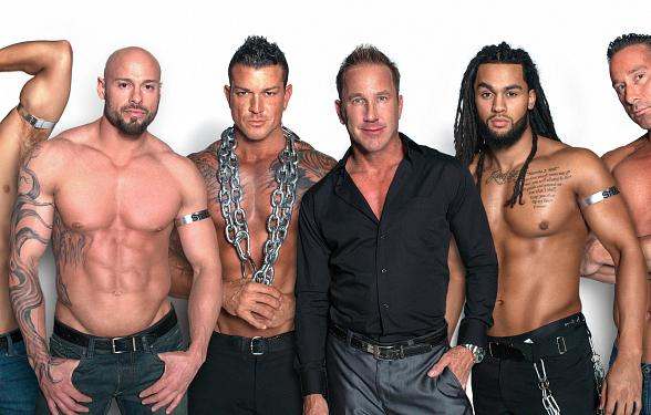 """Las Vegas' All-Male Revue """"Steele"""" to premiere at Tommy Wind Theater & Event Center April 30"""