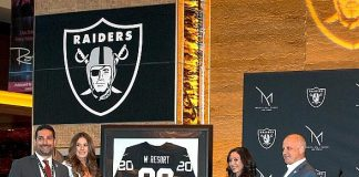 M Resort Spa Casino Announced as Official Team Headquarters Hotel of the Raiders