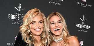Gavin Rossdale, AnnaLynne McCord, Trace Cyrus, Gilles Marini and more at The Barbershop Grand Opening at The Cosmopolitan of Las Vegas