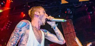 Machine Gun Kelly Returns to Rehab Beach Club Las Vegas for an Unforgettable Performance, July 23