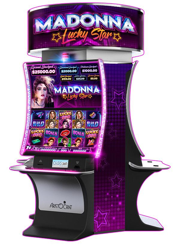 Aristocrat Technologies Licenses Madonna Brand for New Slot Game