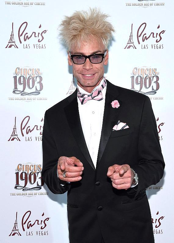 Magician Murray SawChuck Attends Opening Night of CIRCUS 1903 at Paris Las Vegas
