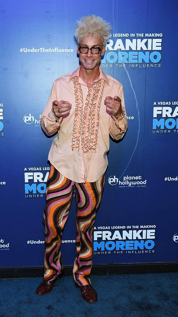 Magician Murray Sawchuck at Opening Night of FRANKIE MORENO - UNDER THE INFLUENCE at Planet Hollywood Resort & Casino