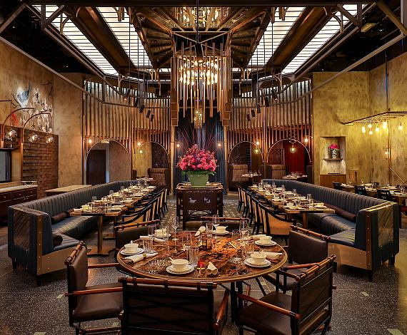 Main dining room at Mott 32 at The Venetian Resort Las Vegas