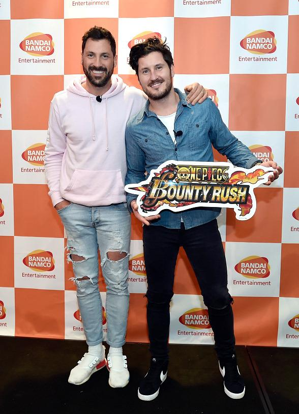 Maks & Val Chmerkovskiy (Dancing with the Stars) Attended Anniversary of One Piece Thousand Storm