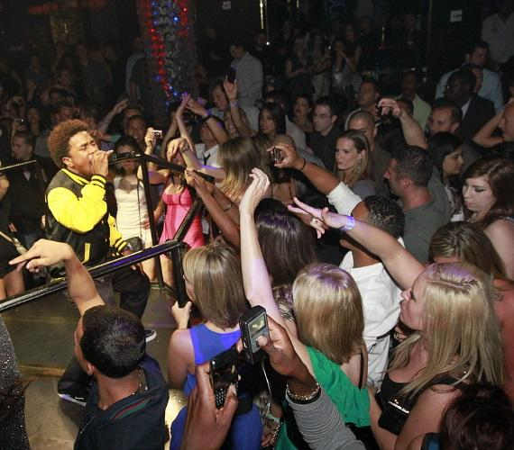 Mann performs at REVEL Pool Party at Hard Rock Hotel