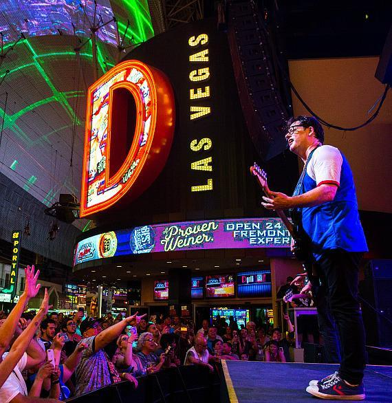 Everclear, Marcy Playground and Local H Take Over Fremont Street Experience During Downtown Rocks