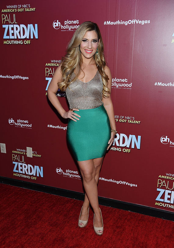 Maren Wade at Opening Night of PAUL ZERDIN MOUTHING OFF at Planet Hollywood Resort & Casino