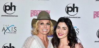 """Artists Marina & the Diamonds and Lykke Li at """"Britney: Piece of Me"""" at Planet Hollywood Resort & Casino"""