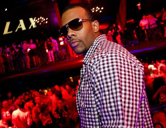 Singer Mario at LAX Nightclub in Las Vegas