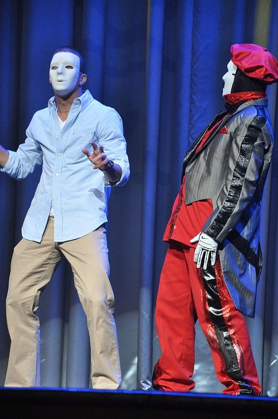 """Mark Ballas from """"Dancing With The Stars"""" at Jabbawockeez Show"""