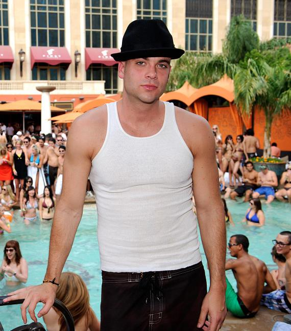 Mark Salling at TAO Beach