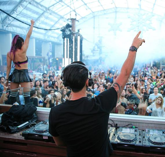Marquee Dayclub Dome New Year's Day