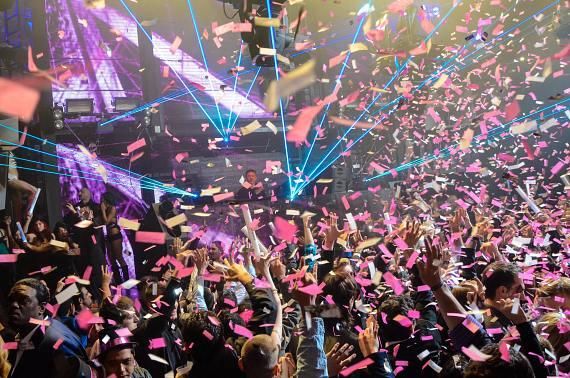 NYE party at Marquee