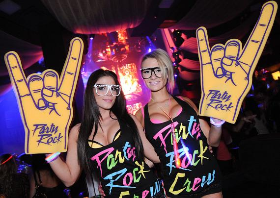 Party Rock Mondays at Marquee Nightclub in The Cosmopolitan of Las Vegas