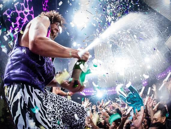 Redfoo performs for Party Rock Mondays at Marquee