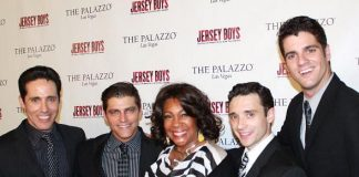 Jeff Leibow, Deven May, Mary Wilson, Rick Faugno and Peter Saide