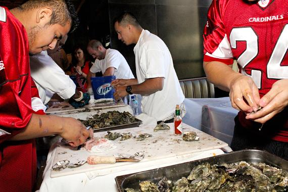 2nd Annual Shuck & Swallow at FIRST Food & Bar