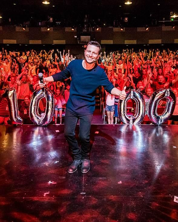 """""""Mat Franco – Magic Reinvented Nightly"""" Celebrates 1,000 Shows at the LINQ Hotel & Casino in Las Vegas"""