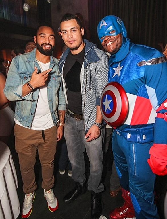 Matt Kemp Spotted at LAVO Champagne Brunch