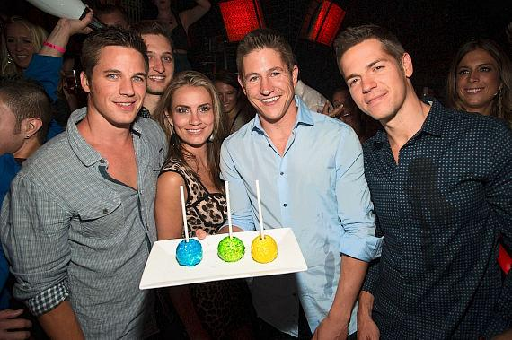 Ryan Lochte and Conor Dwyer at LAVO
