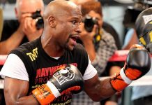 """Floyd Mayweather Media Day in Las Vegas: 'Money' says """"I Was Born for This"""""""