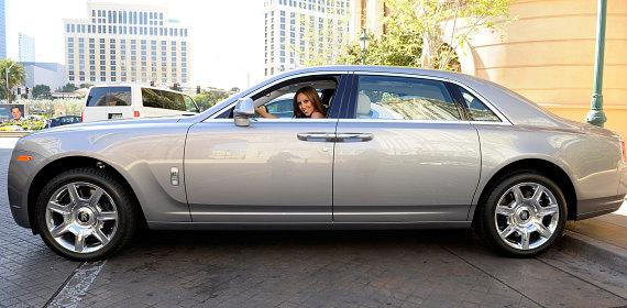 Attached: 1. Melissa Gorga driving Rolls-Royce Ghost from Towbin Motorcars