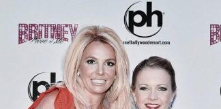 """Actress Melissa Joan Hart at """"Britney: Piece of Me"""" at Planet Hollywood Resort & Casino"""