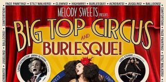 "One Night Only! Melody Sweets' ""Big Top Circus & Burlesque"" at ABSINTHE at Caesars Palace Friday, June 26"