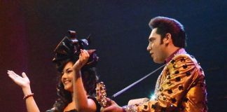 Melody Sweets Performing with the Cast of MILLION DOLLAR QUARTET Las Vegas 4.22.14 (C) Caesars Entertainment (3)-588
