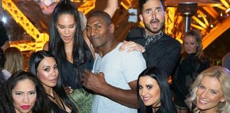 Former NBA Champion Metta World Peace Spotted on Saturday at Chateau Nightclub and Rooftop
