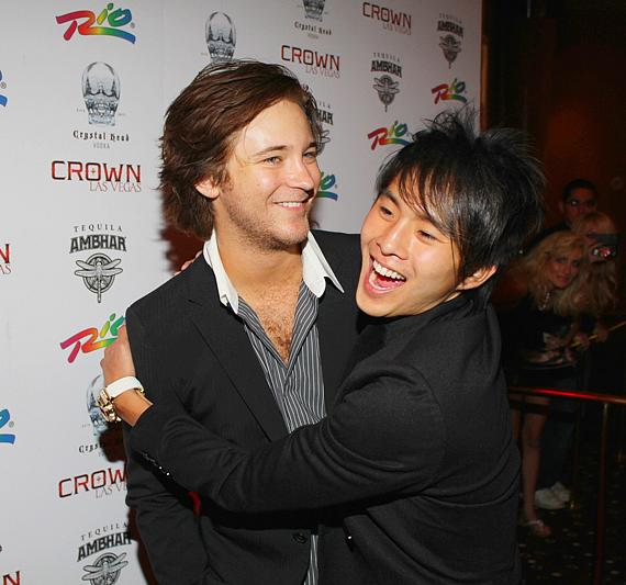 Michael Welch and Justin Chon of Twilight Saga
