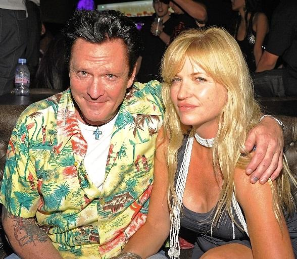 Michael Madsen and his wife Deanna at Gallery Nightclub