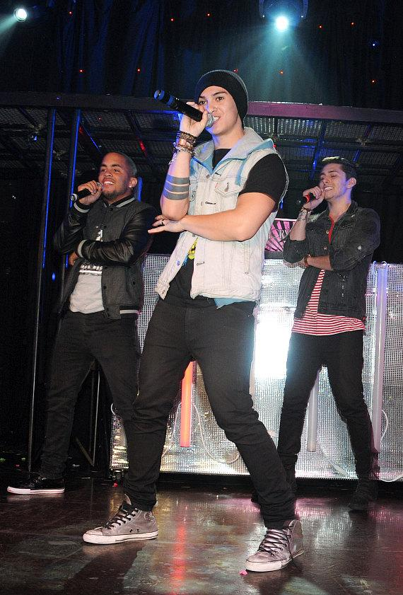 Midnight Red performs at Krave Nightclub in Las Vegas